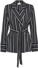 SELECTED Striped - Blazer Women Black