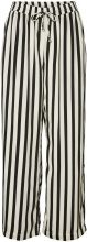 VERO MODA Hw Striped Trousers Women Black