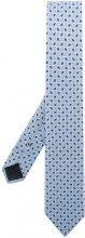 Ermenegildo Zegna - Cravatta con motivo stampato - men - Silk - OS - BLUE