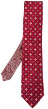 Etro - jacquard tie - men - Silk - OS - RED