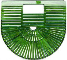 Cult Gaia - Borsa 'Acrylic Ark' - women - Acrylic - One Size - GREEN