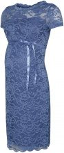MAMA.LICIOUS Lace Maternity Dress Women Blue