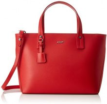Joop!! Pure Kornelia Handbag Mhz - Borse a secchiello Donna, Rot (Red), 14x23x28 cm (B x H T)