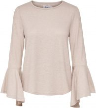 ONLY Flared Long Sleeved Blouse Women Beige