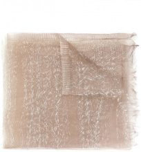 Faliero Sarti - Dionisio scarf - women - Silk/Polyamide - OS - BROWN