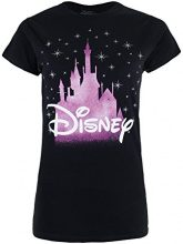 Disney Castle, T-Shirt Donna, Black, 36