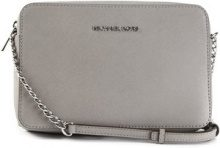Michael Kors Collection - Borsa tracolla 'Jet Set' - women - Leather - One Size - GREY