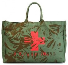 A.F.Vandevorst - Borsa 'We Can Dance' - women - Cotton - OS - GREEN