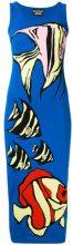 Boutique Moschino - Abito in maglina - women - Cotton - 38 - BLUE