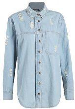 Ellie Embroidered Back Denim Shirt