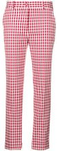 P.A.R.O.S.H. - checked slim-fit trousers - women - Cotton/Polyurethane - XS - RED