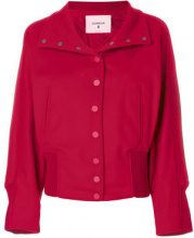Dondup - Giacca con bottoni a pressione - women - Virgin Wool/Cashmere/Acetate/Polyester - 42 - RED
