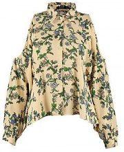 Esme Floral Cold Shoulder Shirt