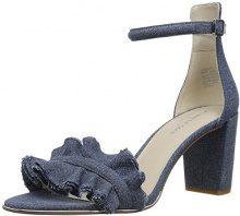 Kenneth Cole Langley, Sandali con Cinturino alla Caviglia Donna, Blu (Blue), 42 EU