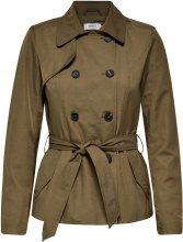 ONLY Short Trenchcoat Women Green