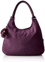 Kipling Bagsational - Borse a tracolla Donna, Violett (Plum Purple), 39x34.5x16 cm (B x H T)