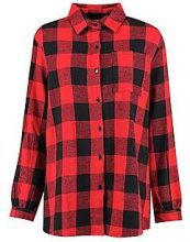 Ellie Checked Oversized Shirt