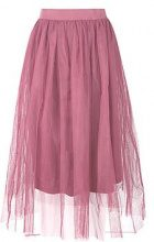 Ava Boutique Full Tulle Midi Skirt
