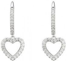 Orecchini in argento sterling con cuore
