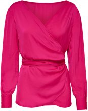 ONLY Wrap Long Sleeved Blouse Women Pink