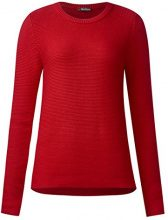 Street One 300480 Phillippa, Maglione Donna, Rot (Scarlet Red 11157), 48
