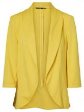 VERO MODA 3/4 Sleeved Blazer Women Yellow
