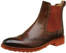 Melvin & HamiltonAmelie 5 - Stivali Chelsea Donna, Marrone (Marron (Crust Wood\Elastic Orange\Rook D Orange)), 36