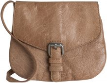 PIECES Leather Crossbody Bag Women Beige