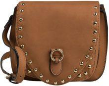 PIECES Studded Crossbody Bag Women Brown