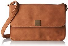 PIECES Pcliede Cross Body Bag - Borse a tracolla Donna, Braun (Cognac), 5x12x20 cm (B x H T)