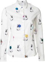 Paul Smith - T-shirt 'Bunny' - women - Cotton - 42 - WHITE