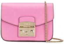 Furla - Borsa a spalla 'Metropolis' - women - Leather - One Size - PINK & PURPLE