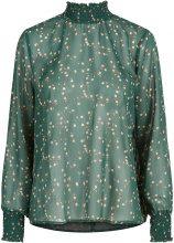 Y.A.S Floral Chiffon Blouse Women Green