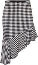 VERO MODA Hw Chequered Skirt Women Black