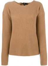 Theory - cashmere Twylina jumper - women - Cashmere - S - BROWN