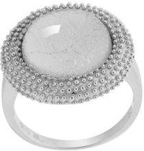 Orphelia dreambase-anello in argento 925 rodiato taglio rotondo (19,1) - taglia 60 ZR-6041/60