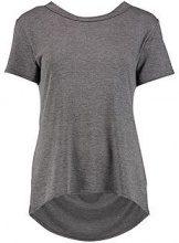Tall marli maglietta con scollo ad anello posteriore oversize