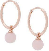 Astley Clarke - Orecchini 'Opal Vera' con pendente - women - 18kt Gold Vermeil - OS - METALLIC