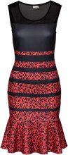 Abito leopardato (Rosso) - BODYFLIRT boutique