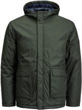 JACK & JONES On-trend Puffer Jacket Men Green