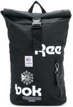 Reebok - Zaino con fibbia e logo stampato - men - Nylon/Polyester - OS - BLACK