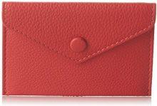 Le Tanneur Violette Two3501, Porta Carte di Credito Donna, Rosso (Rosso (Cerise)), 0.2x7x10 cm (W x H x L)
