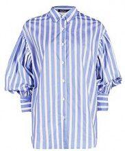 Angela Candy Stripe Balloon Sleeve Shirt