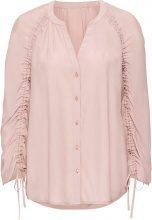 Camicia con maniche arricciate (rosa) - BODYFLIRT