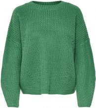 ONLY Loose Knitted Pullover Women Green