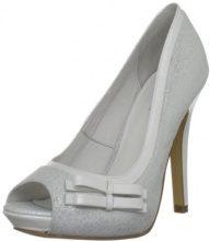MENBUR Filifera, Scarpe da sposa donna, color Bianco (Ivory), talla 5 UK