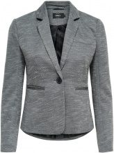 ONLY Solid Blazer Women Grey