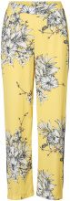 VERO MODA Feminine Trousers Women Yellow