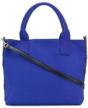 Pinko - Abadeco tote - women - Cotton - One Size - BLUE