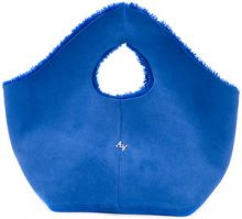 Astraet - Borsa con fodera in pelliccia - women - Sheep Skin/Shearling - OS - BLUE